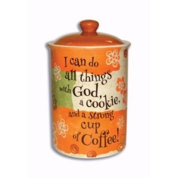 Cookie Jar-Coffee Collection (8.5