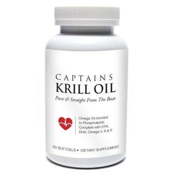Captains Krill Oil: 100% Pure Flash Frigid Pressed Southern Antarctic Krill Oil (4)