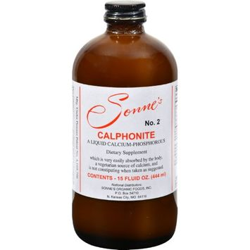Sonnes Sonne's Calphonite No 2 Liquid Calcium Phosphorus - 15 fl oz - HSG-853242