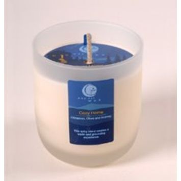 Vermont Way Out Wax Candle Cozy Home Frosted Glass Tumbler