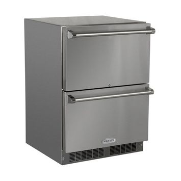 MARVEL 23.875-in Built-in 2 Drawer Refrigerator (Stainless Steel) MO24RDS3NS