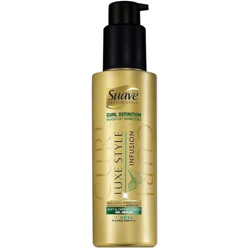 Suave Professionals Luxe Style Infusion Soft & Defined Curls Gel Serum 4.75 oz (Pack of 2)