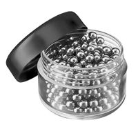 Decanter Cleaning Beads - Stainless Steel Cleaner Balls Removes Residue & Grime for Glass Decanters, Vases, Baby Bottles, Flasks, Glassware