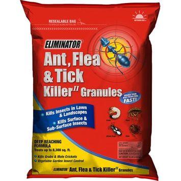 Eliminator Ant, Flea and Tick Killer II Granules Yard Insect Killer, 20 lbs