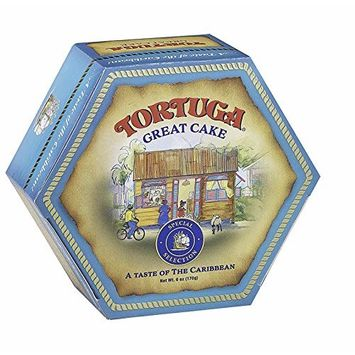 TORTUGA Special Selection Caribbean Great Cake - 6 Ounce - The Perfect Premium Gourmet Gift for Gift Baskets, Parties, Holidays, and Birthdays - Great Cakes for Delivery