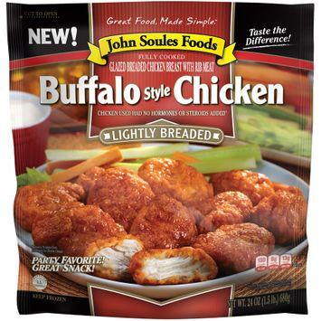 john soules foods® lightly breaded buffalo style chicken