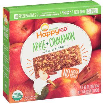Happy Kid™ Apple + Cinnamon Fruit & Oat Bars