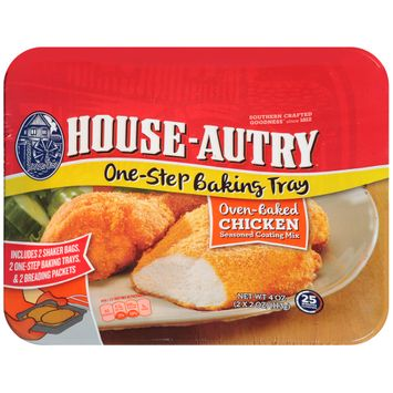 House-Autry® Oven-Baked Chicken Seasoned Coating Mix