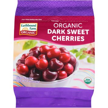 earthbound farm® organic dark sweet cherries