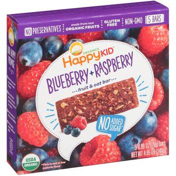Happy Kid™ Blueberry + Raspberry Fruit & Oat Bars