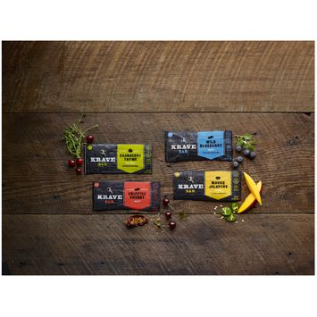 Krave® Cranberry Thyme Turkey Meat Bars 1 Bars
