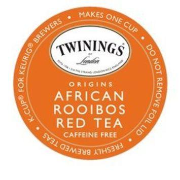 Twinings of London Rooibos Tea K-Cups for Keurig, 24 Count [Rooibos]