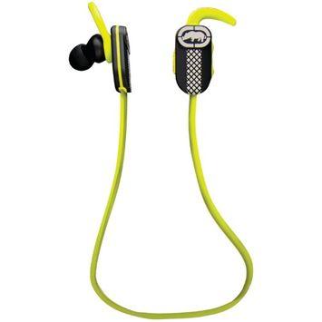ECKOUNLTD EKURNRGRN RUNNER BLUETOOTH EARPHONES WITH MIC GREEN BLACK