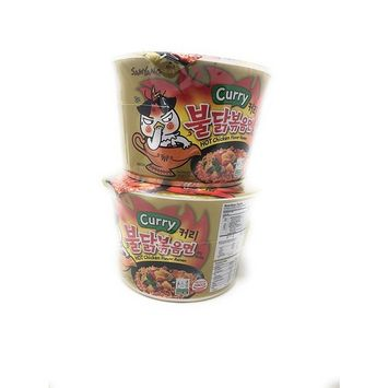 Fusion Select Samyang Hot Chicken Flavor Ramen Big Bowl - Curry Flavor - 2 Packs