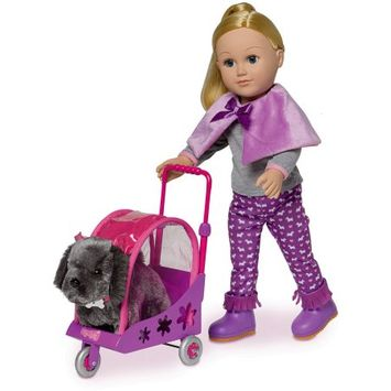 Associated Manufacturing Vietnam My Life As Doll Dog Stroller