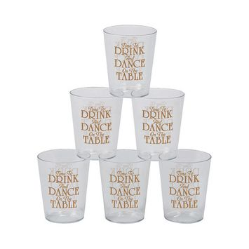 IN-13751787 Time to Drink Plastic Shot Glasses