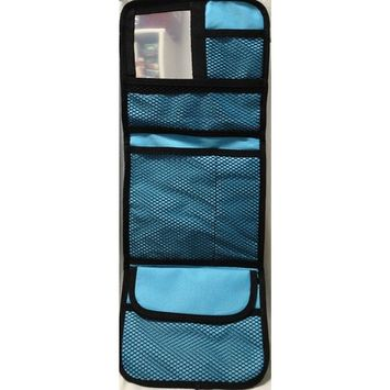 Board Dudes Tri-Fold Hanging Organizer with Mirror-Color May Vary
