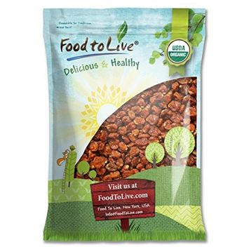 Food To Live ® Certified Organic Dried Golden Berries (Non-GMO, Bulk) (12 Pounds)