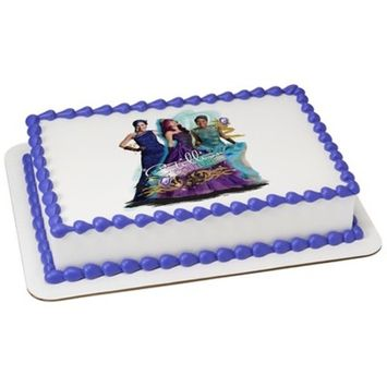 Descendants Edible Icing Image for 6 inch Round Cake