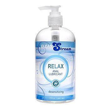 Cleanstream Relax Desensitizing Lube, 17oz