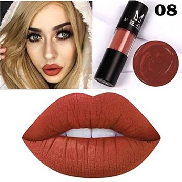 Kanzd MISS YOUNG Liquid Lipstick Long Lasting Waterproof Moisturizer Velvet Lipstick Lip Glosses Cosmetic Beauty Makeup