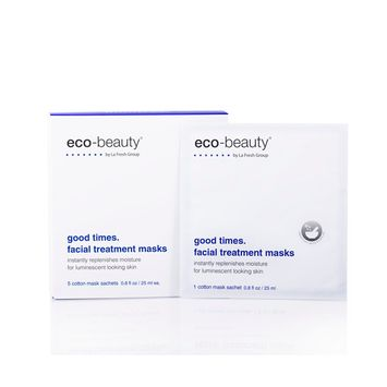 Eco Beauty Good Times Facial Treatment Mask with Natural Anti Aging Botanicals
