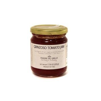 Il Podere del Grillo, Grinzoso Tomato Jam, Organic, 7.76oz (Pack of 2)