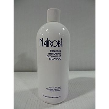 Nairobi Exquisite Hydrating Detangling Shampoo for Unisex, 32 Ounce