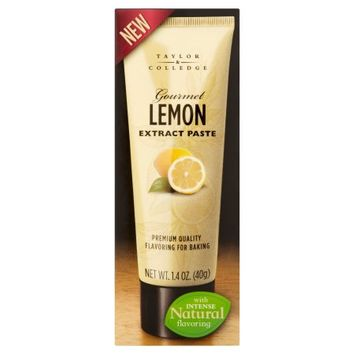 International Foods Associates Taylor; Colledge, Paste Extract Lemon, 1.4 Oz (Pack Of 8)
