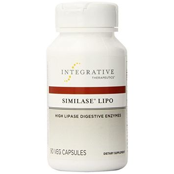 Integrative Therapeutics - Similase Lipo - Physician Developed Lipase Enzyme Supplement - Promotes Fat Digestion - 90 Vegetable Capsule [Standard Packaging]