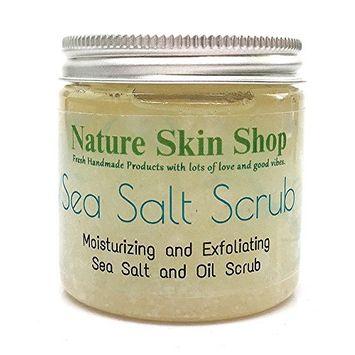 Dead Sea Salt And Shea Scrub, Exfoliate and Smoothing