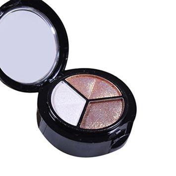 Eye Shadow,SMTSMT 3 colors Professional Natural Matte Makeup Eye Shadow (B)
