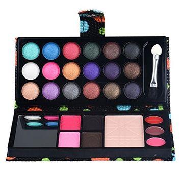 Face Makeup Palettes,FTXJ 26Colors Eye Shadow Makeup Palette Cosmetic Eyeshadow Blush Lip Gloss Powder