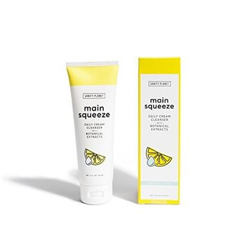 Vanity Planet Main Squeeze Daily Cream Cleanser with Botanical Extracts