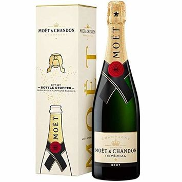 Moet & Chandon Imperial Brut w/ Bottle Stopper, Champagne, 750 ml
