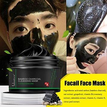Blackhead Removel Mask, TONSEE 120g Black Mud Deep Cleansing Pilaten Blackhead Remover Purifying Peel Face Mask