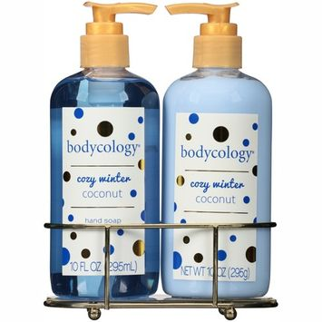 Bodycology Cozy Winter Coconut Hand Soap & Lotion, 2 piece