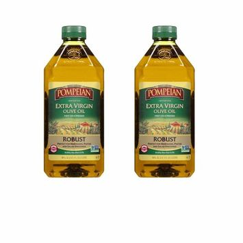 Pompeian Robust Extra Virgin Olive Oil, First Cold Pressed, Low Acidity, 68 Ounce ( 2 pack )