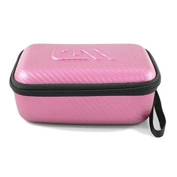 CASEMATIX Pink Epilator Case Fits Epilady Legend Epilator, Epilady Speed and More with Charger and Grooming Attachments