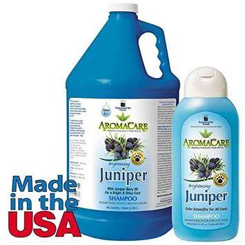 PPP AromaCare Brightening Juniper Dog Shampoo, 1-Gallon
