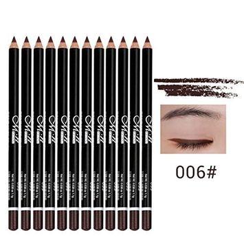 12 Colors Long-lasting Eye Shadow Eyeliner Lip Liner Pen Makeup Waterproof SUMI Eyeshadow Pen Beauty