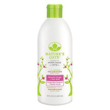 Natures Nature's Gate Awapuhi Ginger + Holy Basil Volumizing Shampoo 18.0 fl oz(pack of 12)
