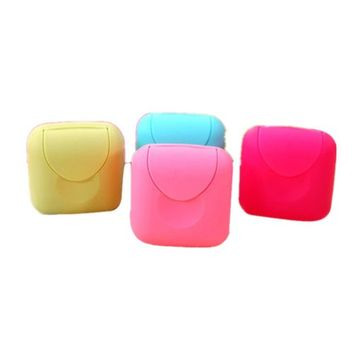 Home Bathroom Plastic Soap Case Holder New Bathroom Dish Plate Case Home Shower Travel Hiking Holder Container Soap Box by Faber3 (Two S)