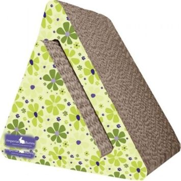 ImperialCat 01305 Triangle 2-in-1, Scratch n Nibble