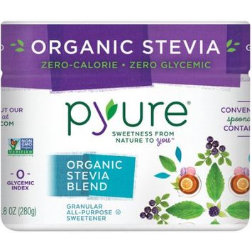 PYURE 268407 9.8 oz. Organic All-Purpose Stevia Sweetener Tub