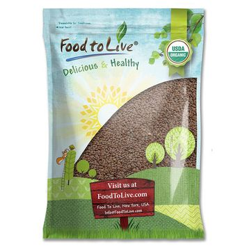 Organic Whole Red Lentils by Food to Live (Non-GMO, Kosher, Raw, Dried, Sproutable, High in Fiber, Bulk, Product of Canada) — 15 Pounds
