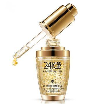 24K Gold Face Cream Whitening Moisturizing Day Creams & Moisturizers Gold Essence Serum New Face Skin Care