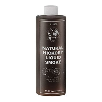 TSM All Natural Concentrated Liquid Hickory Smoke, Sixteen Ounces