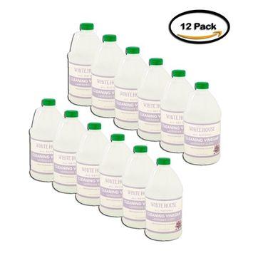 PACK OF 12 - White House Lavender Scent Cleaning Vinegar, 64 fl oz