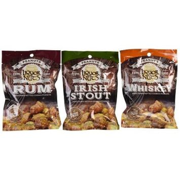 Sugar Plum Chocolates Liquor Nuts 3-Pack